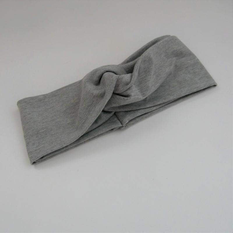 - TurbanStirnband  graumelange Handarbeit von zimtblüte  TurbanHaarband   kaufen  - TurbanStirnband  graumelange Handarbeit von zimtblüte  TurbanHaarband   kaufen