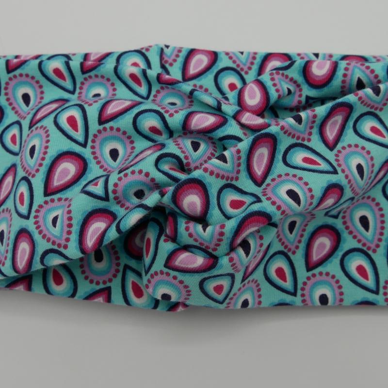 Kleinesbild - Turbanstyle Stirnband DROPS Handarbeit von zimtblüte  Turban Haarband