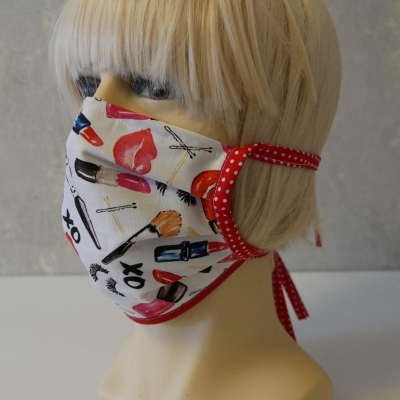 - Mund-Nasen-Maske, Behelfsmaske XO für Frauen von zimtblüte   - Mund-Nasen-Maske, Behelfsmaske XO für Frauen von zimtblüte