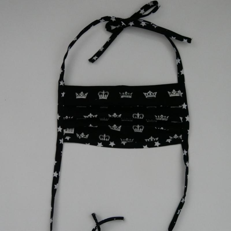 Kleinesbild - Mund-Nasen-Maske, Behelfsmaske KRONE auch für Männer von zimtblüte