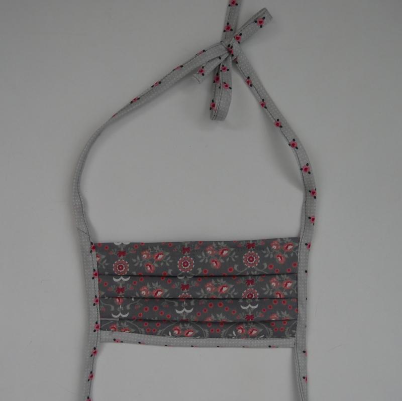 Kleinesbild - Mund-Nasen-Maske, Behelfsmaske BLÜMCHEN für Frauen von zimtblüte
