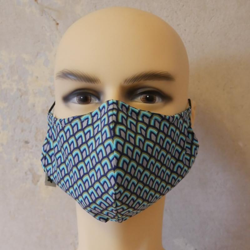 - Mund-Nasen-Maske, Behelfsmaske Alltagsmaske mit Nasensteg auch für Männer von zimtblüte     - Mund-Nasen-Maske, Behelfsmaske Alltagsmaske mit Nasensteg auch für Männer von zimtblüte