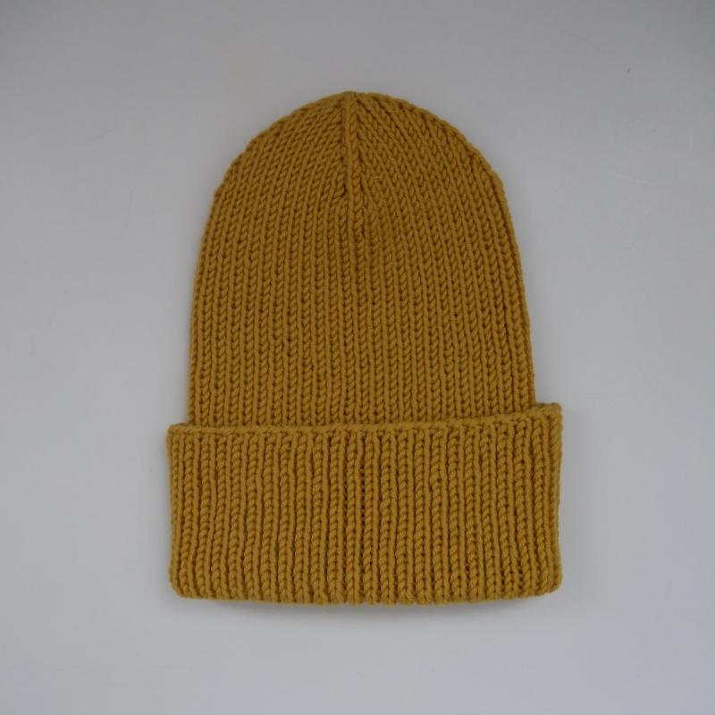 Kleinesbild - LAST MINUTE BASIC Beanie MAIS handgestrickt  Wollbeanie unisex von zimtblüte