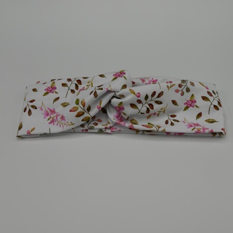 - BEERE Stirnband mit Twist im Turbanstyle handmade Haarband von zimtbluete    - BEERE Stirnband mit Twist im Turbanstyle handmade Haarband von zimtbluete