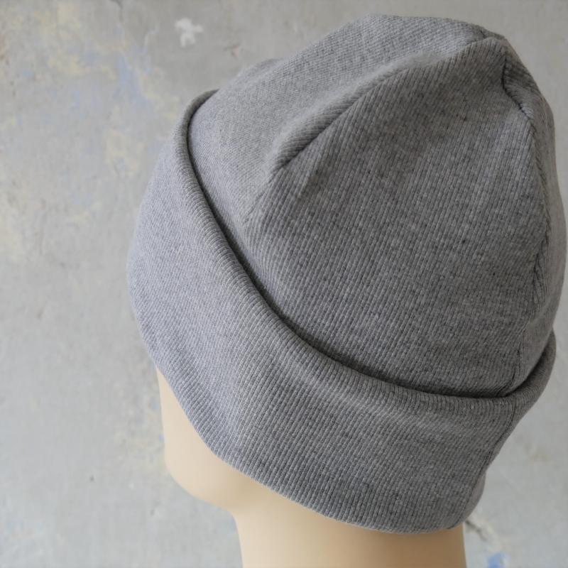 Kleinesbild - Hipster Beanie für Herren GRAU Rippenjersey MännerMütze von zimtblüte