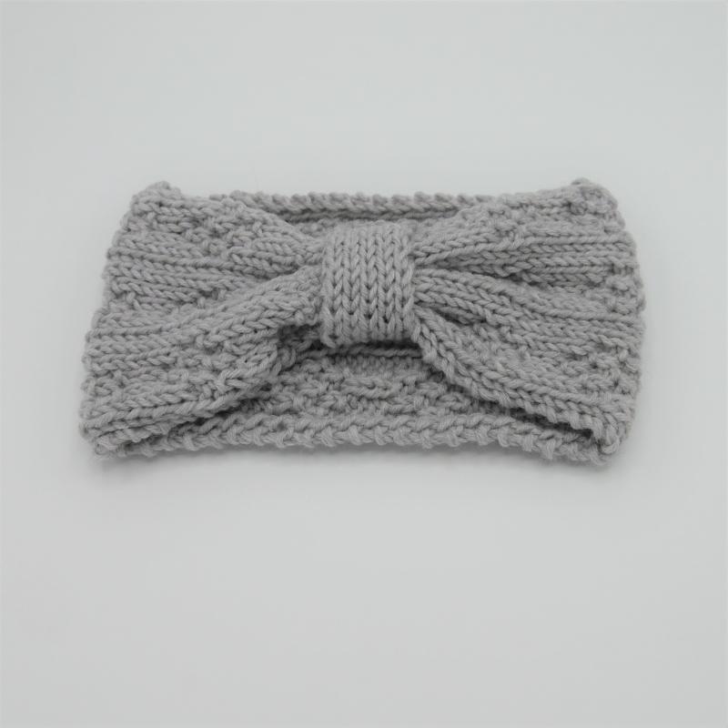 -  LAST MINUTE Stirnband in GRAUmelange aus Wolle handgestrickt  von zimtblüte -  LAST MINUTE Stirnband in GRAUmelange aus Wolle handgestrickt  von zimtblüte