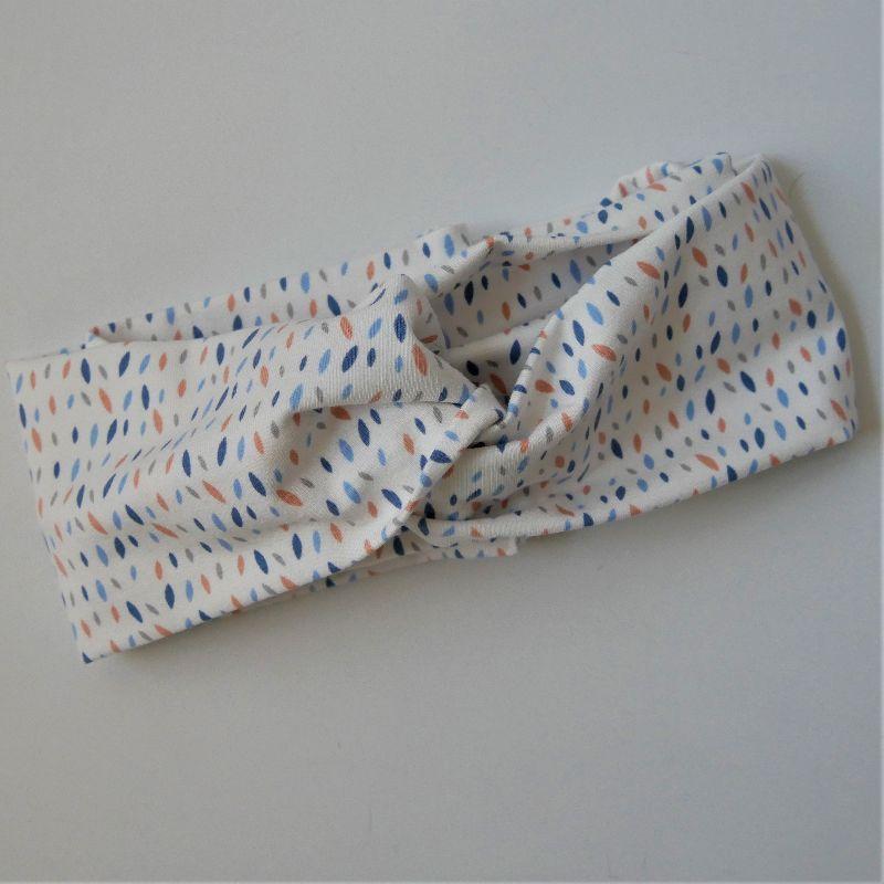 - TurbanStirnband Modell SPRENKEL Handarbeit von zimtblüte  TurbanHaarband mit Twist kaufen     - TurbanStirnband Modell SPRENKEL Handarbeit von zimtblüte  TurbanHaarband mit Twist kaufen