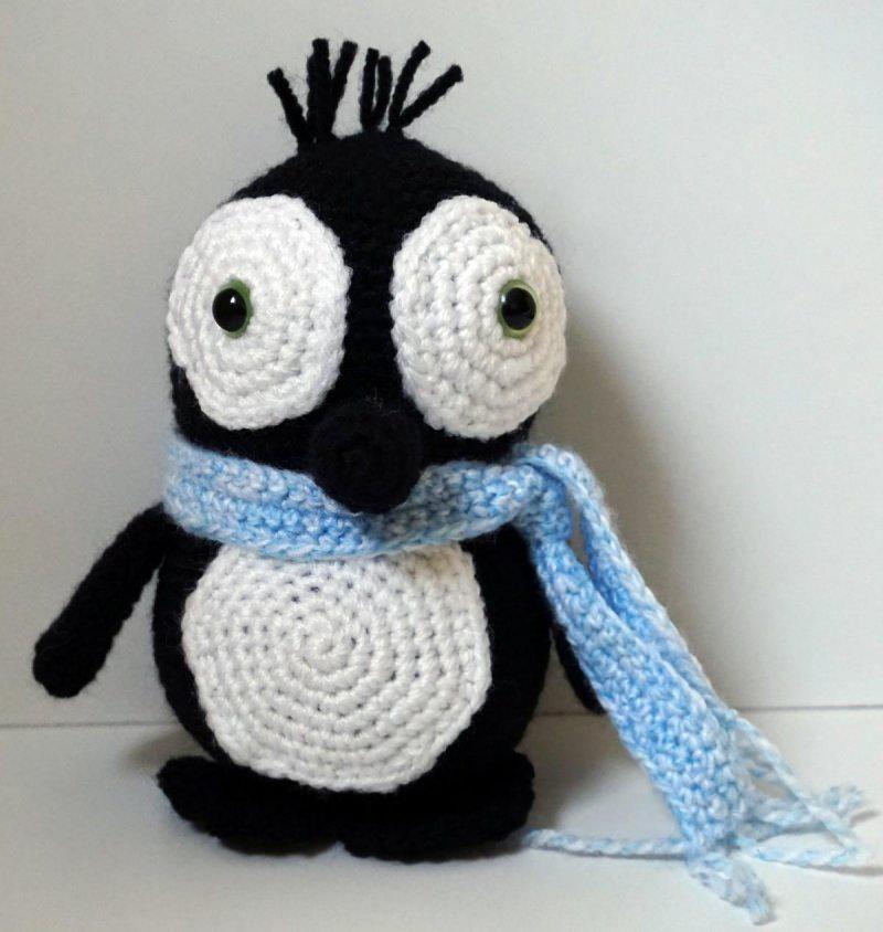 - ♡ Amigurumi Pinguin Joe ♡ amigoll9 ♡ Deko ♡ Handarbeit ♡ - ♡ Amigurumi Pinguin Joe ♡ amigoll9 ♡ Deko ♡ Handarbeit ♡