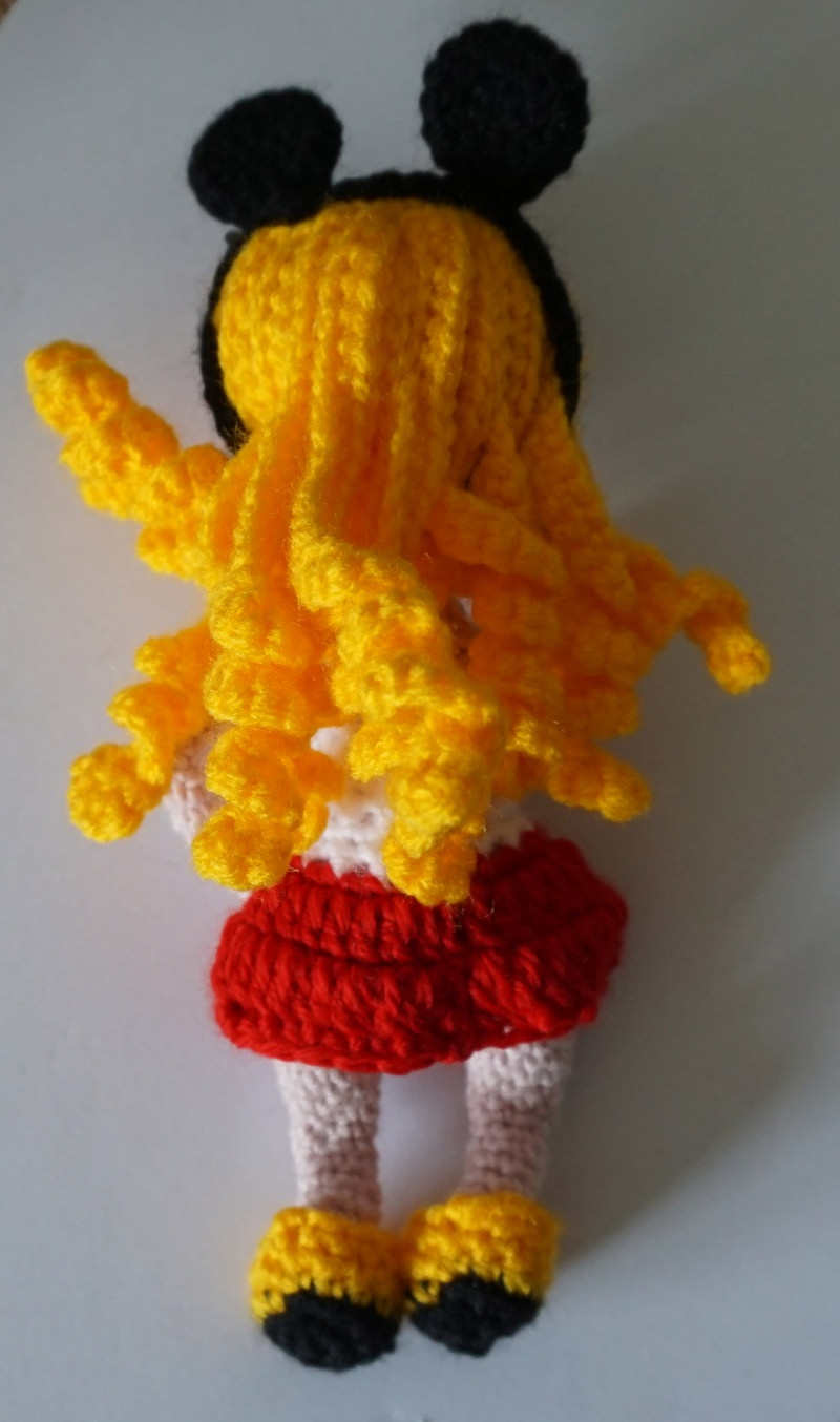 Kleinesbild - ♡ Amigurumi Puppe Josie ♡ amigoll9 ♡ Deko ♡ Handarbeit ♡