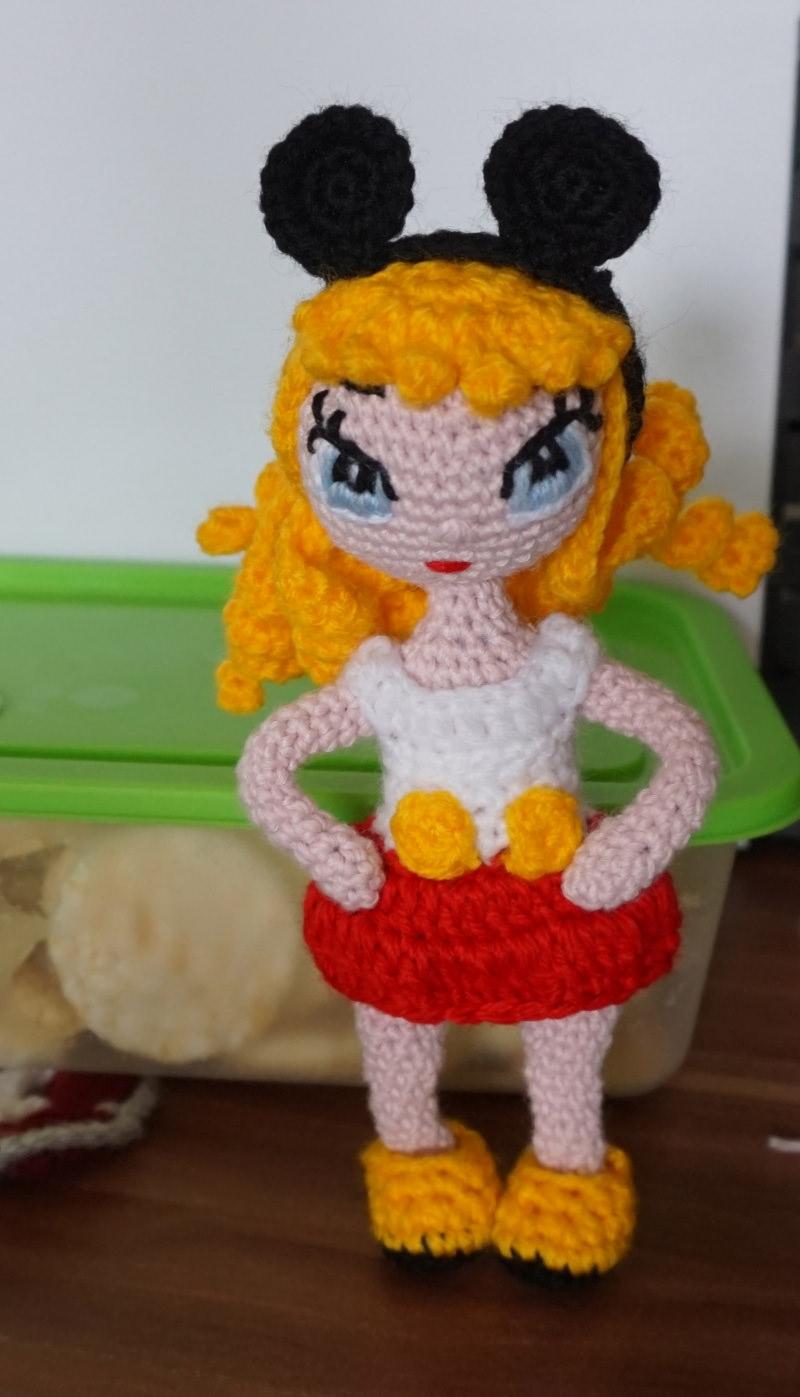 - ♡ Amigurumi Puppe Josie ♡ amigoll9 ♡ Deko ♡ Handarbeit ♡ - ♡ Amigurumi Puppe Josie ♡ amigoll9 ♡ Deko ♡ Handarbeit ♡