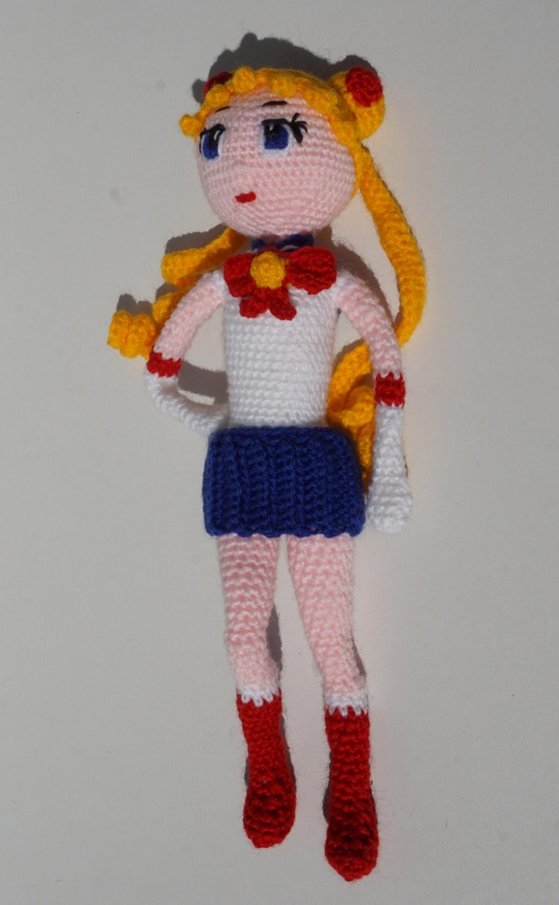 - ♡ Amigurumi Puppe Sailormond ♡ amigoll9 ♡ Deko ♡ Handarbeit ♡ - ♡ Amigurumi Puppe Sailormond ♡ amigoll9 ♡ Deko ♡ Handarbeit ♡