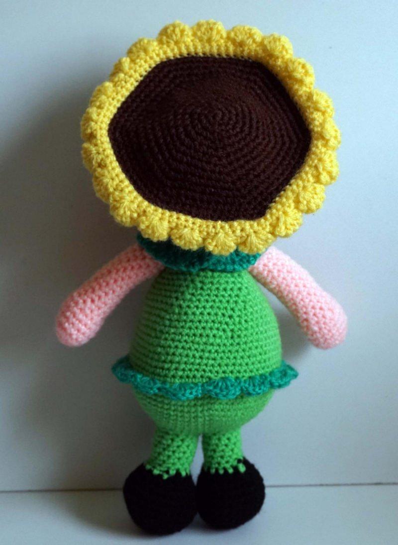 Kleinesbild - ♡ Amigurumi Puppe Sunshine ♡ amigoll9 ♡ Deko ♡ Handarbeit ♡