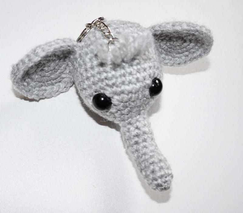 - ♡ Amigurumi Schlüsselanhänger Elefant ♡ amigoll9 ♡ Deko ♡ Handarbeit ♡ - ♡ Amigurumi Schlüsselanhänger Elefant ♡ amigoll9 ♡ Deko ♡ Handarbeit ♡