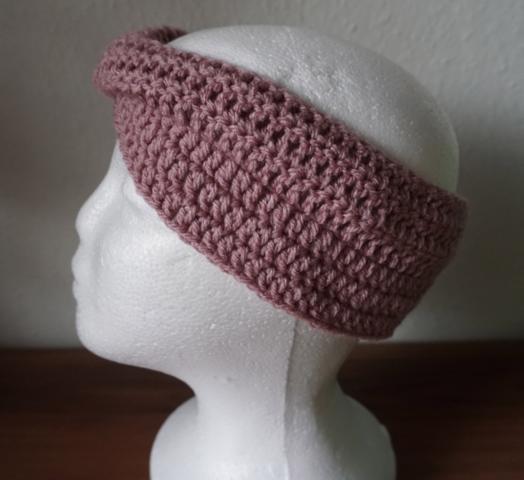 Kleinesbild - ♡ Stirnband Twist one size ♡ amigoll9 ♡ Deko ♡ Handarbeit ♡