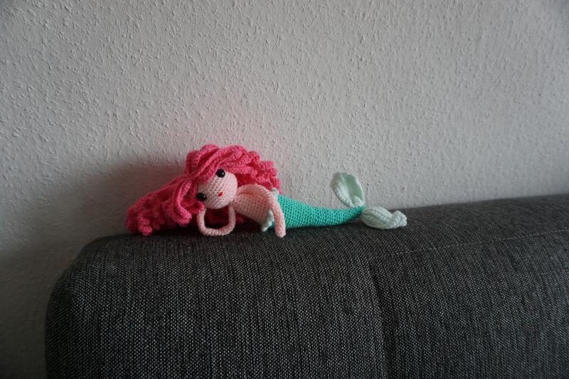 - ♡ Amigurumi Meerjungfrau Sirina ♡ amigoll9 ♡ Deko ♡ Handmade ♡ - ♡ Amigurumi Meerjungfrau Sirina ♡ amigoll9 ♡ Deko ♡ Handmade ♡