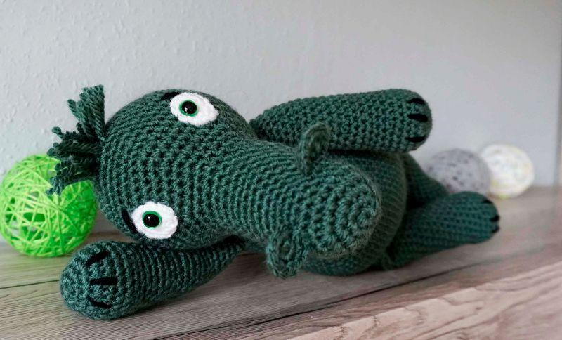 Kleinesbild - Amigurumi Krokodil Kroki ♡ amigoll9 ♡ Handarbeit
