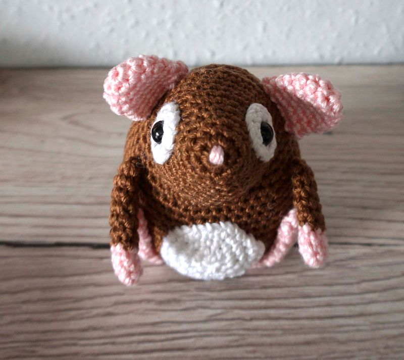 Kleinesbild - Amigurumi Georg♡ Kuscheltier ♡ Meerschweinchen ♡ amigoll9 ♡ Handarbeit ♡ 100% Baumwolle