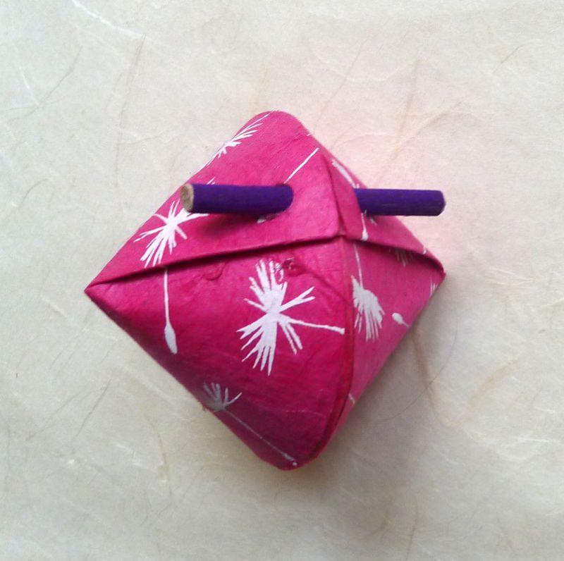 Kleinesbild - Schmuck-/Geschenkschächtelchen Löwenzahn pink (Kopie id: 100146943)