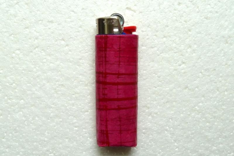 - Feuerzeughülle pink in pink gemuster für BIC-Feuerzeuge - Feuerzeughülle pink in pink gemuster für BIC-Feuerzeuge