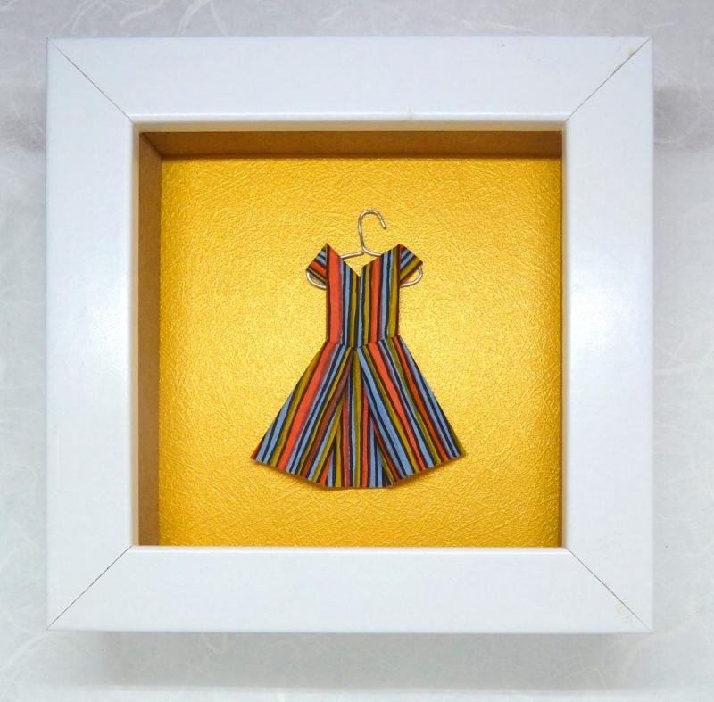 - Minibild mit niedlichem Papierkleidchen auf Kleiderbügel, 10 x 10 cm  (Kopie id: 100194619) - Minibild mit niedlichem Papierkleidchen auf Kleiderbügel, 10 x 10 cm  (Kopie id: 100194619)