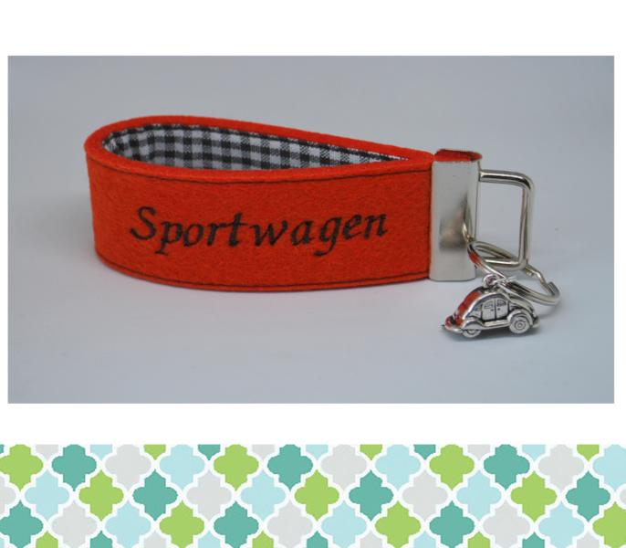 - Schlüsselanhänger  Sportwagen - Schlüsselanhänger  Sportwagen