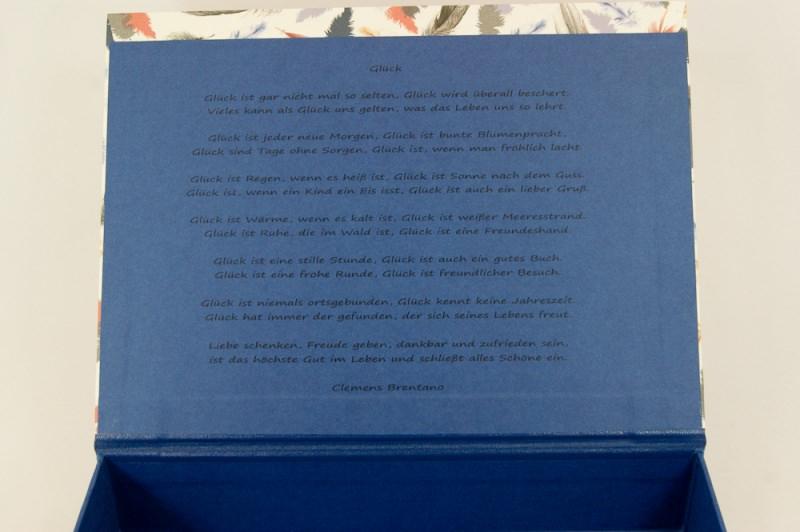 Kleinesbild - A4 Kästchen, Geschenkverpackung personalisierbar