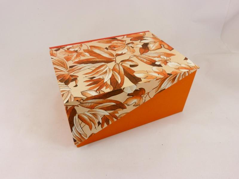 - A5 Kästchen mit Zierecke, Geschenkverpackung - A5 Kästchen mit Zierecke, Geschenkverpackung