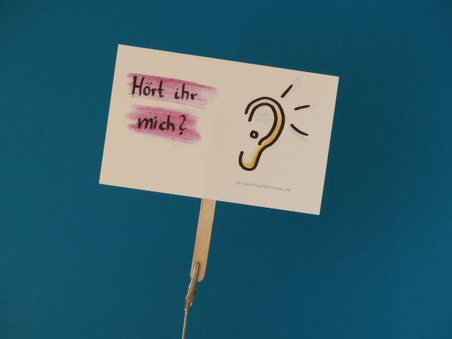 - Konferenzkarte: Hört ihr mich? - belebe Videokonferenzen      - Konferenzkarte: Hört ihr mich? - belebe Videokonferenzen