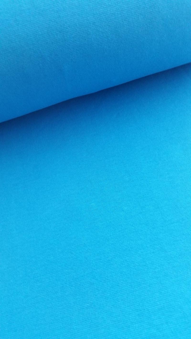 - Bündchen fein Ripp, Schlauch, in der Farbe türkis, 25 cm  - Bündchen fein Ripp, Schlauch, in der Farbe türkis, 25 cm