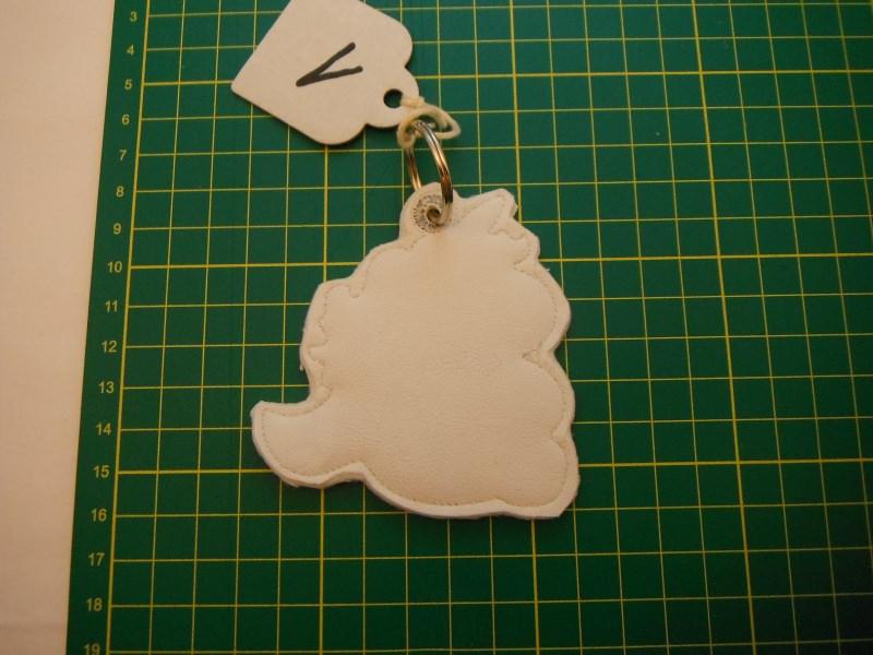 Kleinesbild - Einhorn Schlüssel- anhänger Taschenbaumler da werden die Herzen doch schwach mit ein wenig Glitzer