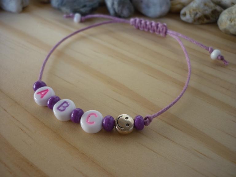 Kleinesbild - Handgemachtes filigranes Kinderarmband
