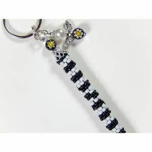 Kleinesbild - Gehäkelter Schlüsselanhänger Taschenanhänger kleines Geschenk
