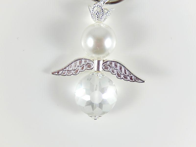 Kleinesbild - 5 Schutzengel Schlüsselanhänger Gastgeschenke Wichtelgeschenk Taschenanhänger