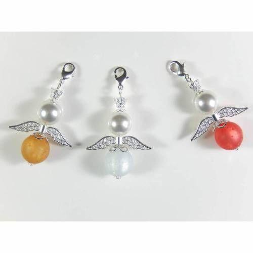 - 3 Schutzengel Schlüsselanhänger Anhänger Glücksbringer Charms  - 3 Schutzengel Schlüsselanhänger Anhänger Glücksbringer Charms