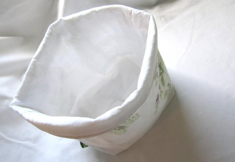 Kleinesbild - Utensilo Hornveichen, romantisch, Vintage,, handmade, Patchwork,