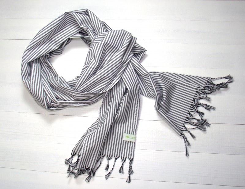 - Schal ,schwarz/weiß - Schal ,schwarz/weiß