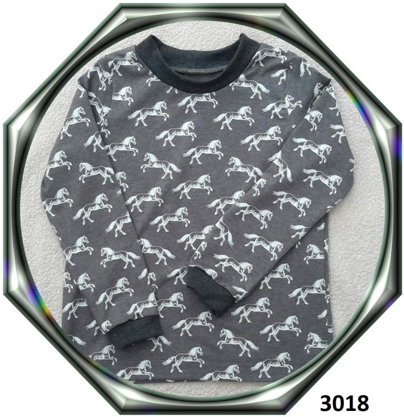 - Langarmshirt für Pferdenarren! Gr.: 128 - Langarmshirt für Pferdenarren! Gr.: 128