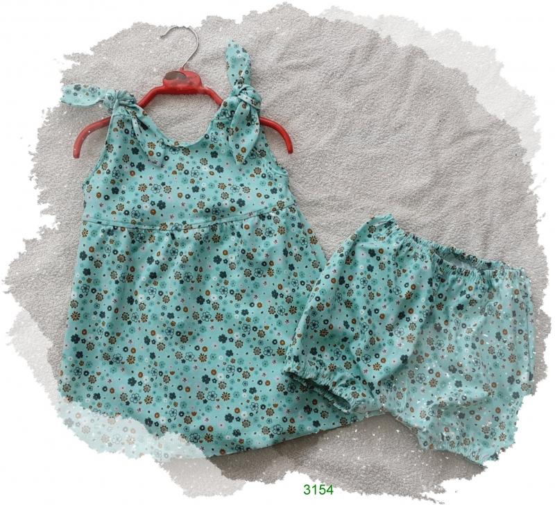 - Babykleid mit dazu passender Hose! Gr.: 80/86 - Babykleid mit dazu passender Hose! Gr.: 80/86