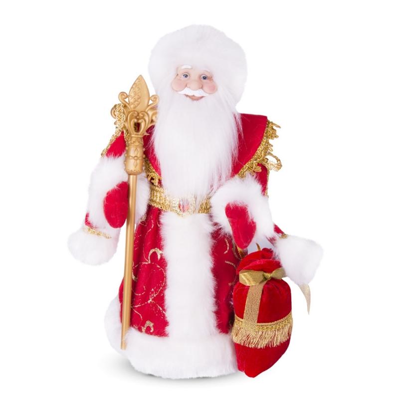 - Weihnachtsmann/Ded Moros, Dekorartikel, 40 cm,, rot, mit Fach für Geschenke - Weihnachtsmann/Ded Moros, Dekorartikel, 40 cm,, rot, mit Fach für Geschenke
