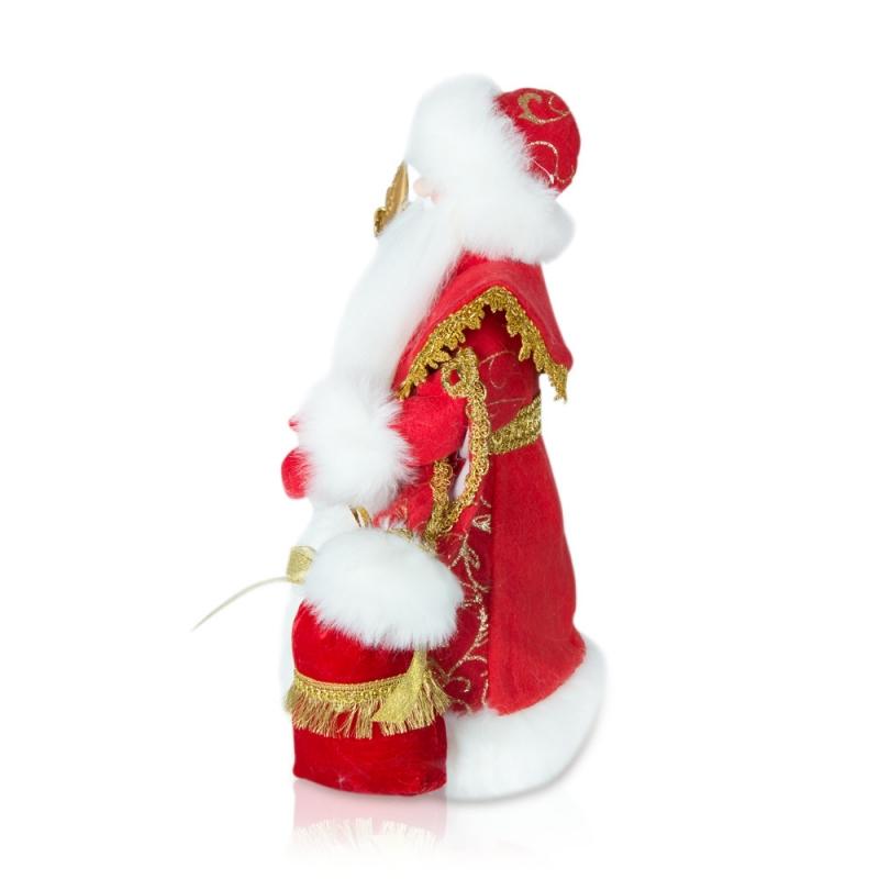 Kleinesbild - Weihnachtsmann/Ded Moros, Dekorartikel, 40 cm,, rot, mit Fach für Geschenke