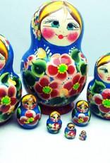 Kleinesbild - Handgearbeitete Matroschka