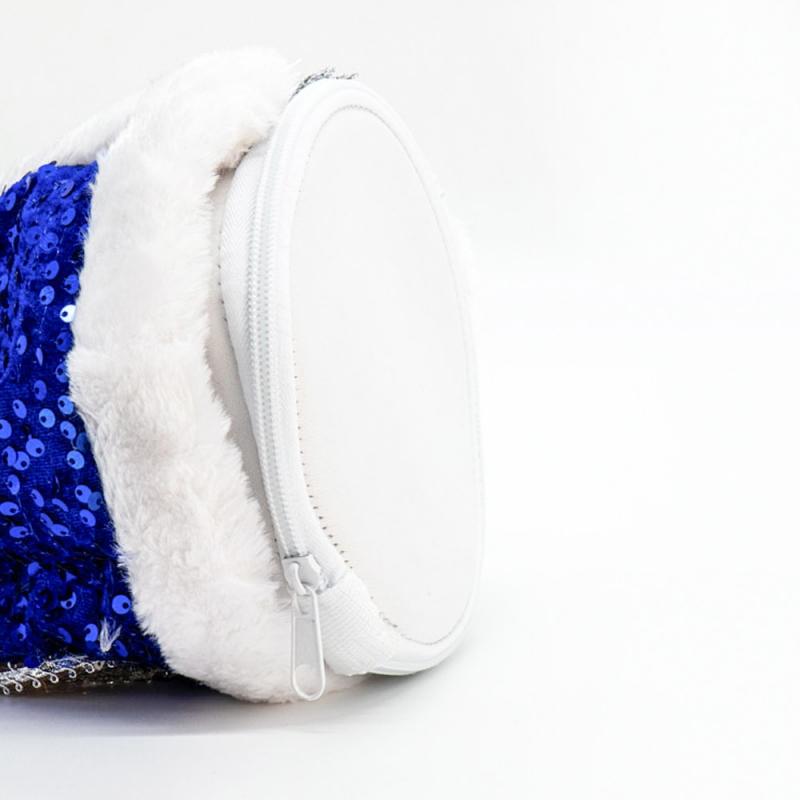 Kleinesbild - Snegurotschka, Dekorartikel, 35 cm, royal-blau, mit Fach für Geschenke