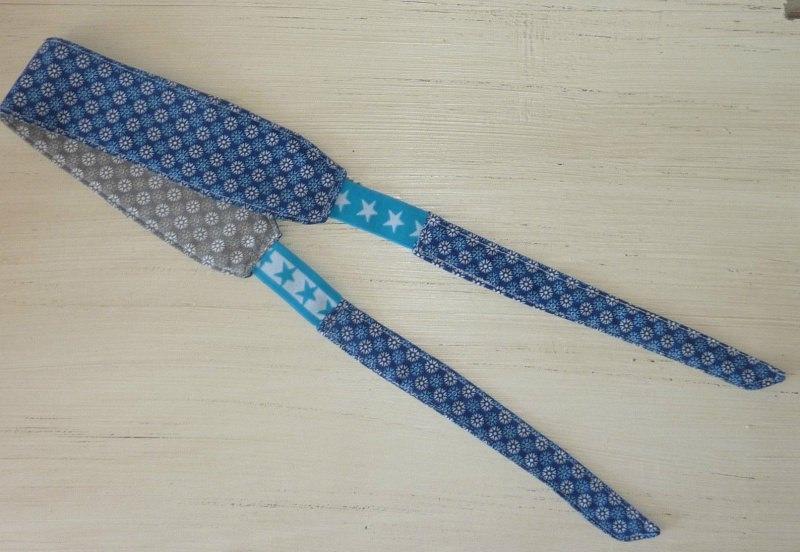 - Sportstirnband mit seitlichem Gummizug in blau-grau von ideenReich kaufen - Sportstirnband mit seitlichem Gummizug in blau-grau von ideenReich kaufen