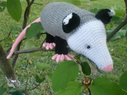 Häkelanleitungen : Häkelanleitung Opossum - PDF-Datei - Download