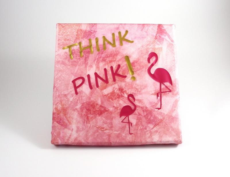 - Keilrahmen SeidenBild 20x20 cm ThinkPink Einzelstück von ZWEIFARBIG Flamingo Wohndeko Kunst homedeko Gastgeschenk - Keilrahmen SeidenBild 20x20 cm ThinkPink Einzelstück von ZWEIFARBIG Flamingo Wohndeko Kunst homedeko Gastgeschenk