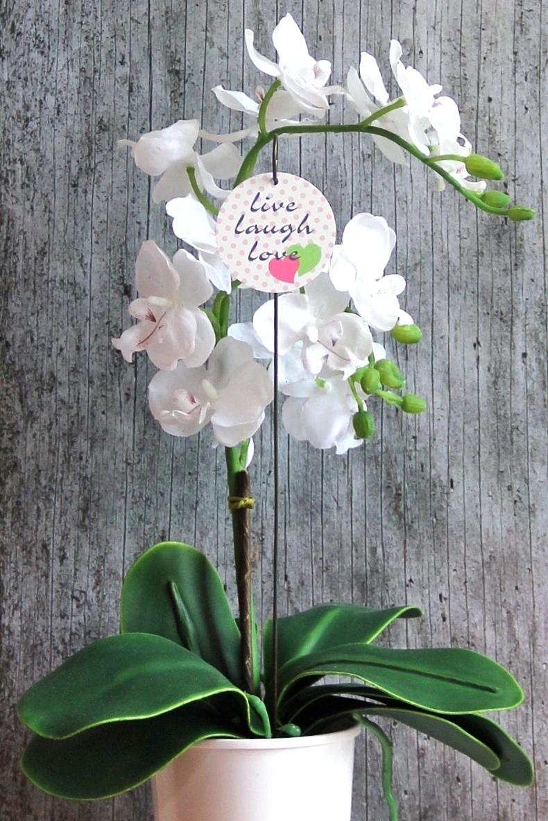 Kleinesbild - Blumenstecker **2 Herzen** von ZWEIFARBIG homedeko Blumenschmuck Geburtstag Geschenk Umzug Hauseinweihung Wohndeko