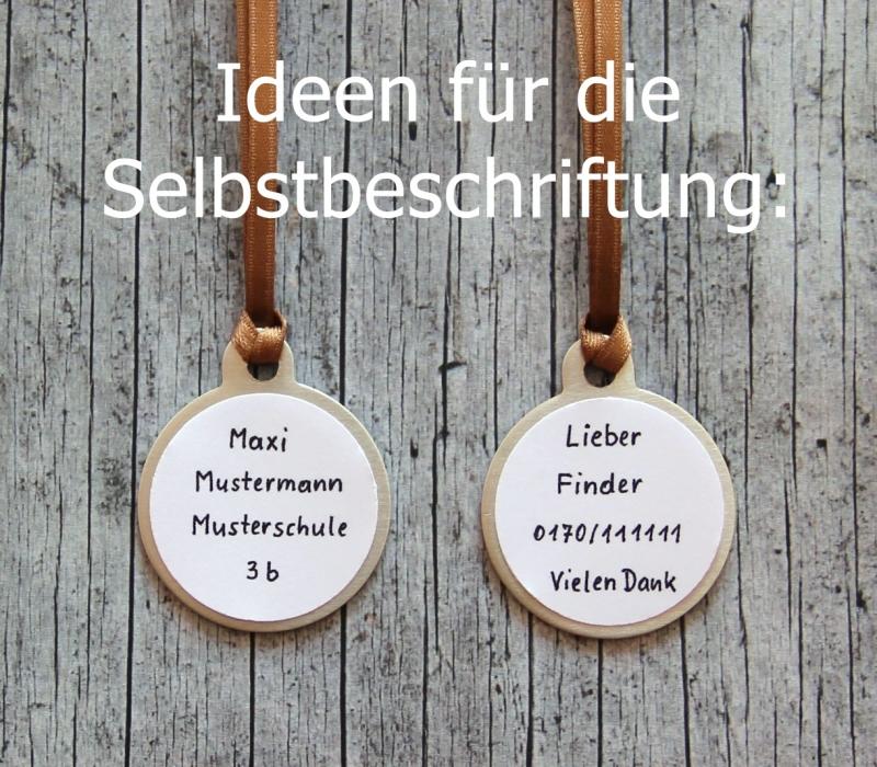 Kleinesbild - 2er Set Anhänger HerzDUO2 Glücksbringer Oktoberfest Schlüsselanhänger Valentinstag