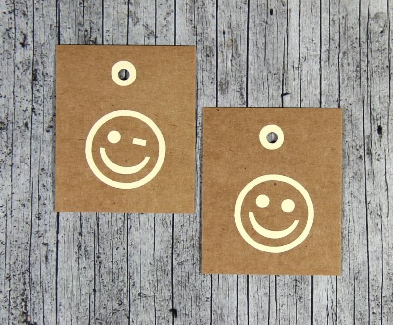 Kleinesbild - Geschenkanhänger **Natur4** von ZWEIFARBIG 6er Set Kraftpapier Geburtstag Geschenkdeko Papieranhänger Dekoration