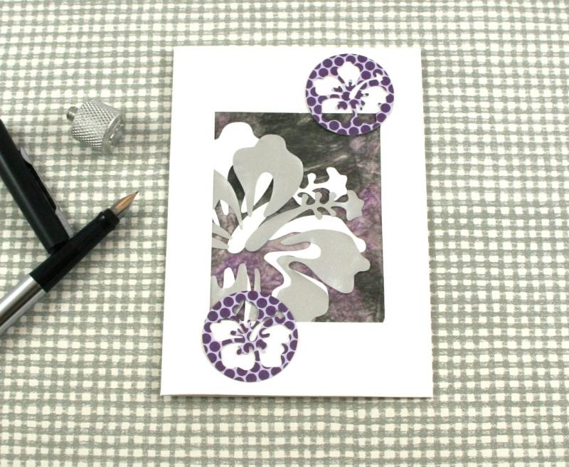 - Glückwunschkarte Hibiskus1 DinA6 mit Umschlag Einzelstück von ZWEIFARBIG Geburtstagskarte Grußkarte - Glückwunschkarte Hibiskus1 DinA6 mit Umschlag Einzelstück von ZWEIFARBIG Geburtstagskarte Grußkarte