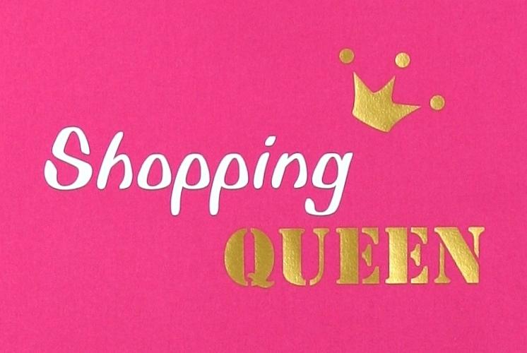 Kleinesbild - Stofftasche Queen von ZWEIFARBIG Gold Einkaufsbeutel Shopper Geburtstag Geschenk Einkaufstasche Mottoprint Baumwolltasche Stoffbeutel